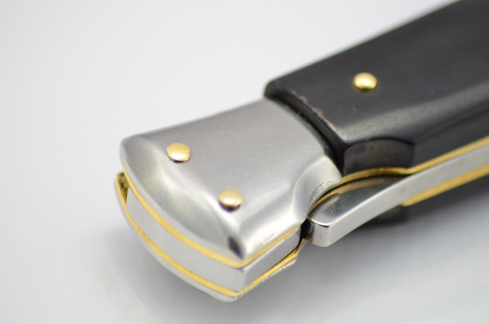 Beltrame Stiletto Swinguard Buffalo horn bajonet