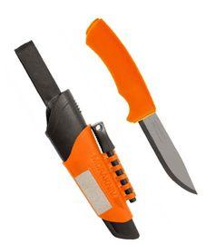 Kés Mora Bushcraft Survival Orange