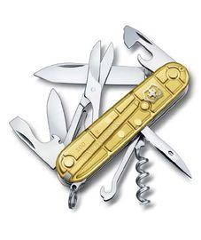 Victorinox kések - Victorinox kés CLIMBER GOLD 1.3703.T88
