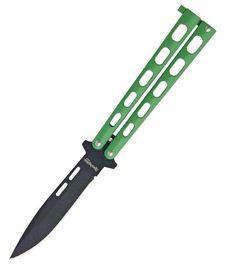 Remington Butterfly Green Handles