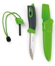 Swedish FireKnife - zöld