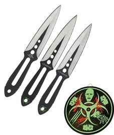 Z-Hunter Three Piece Thowing Knife Set